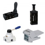 Pnematic Manual Operated Valves
